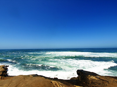 Pacific Ocean off the cliffs of La Jolla  Order Code: A24